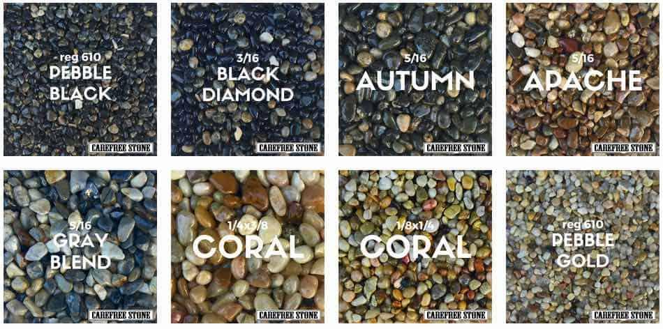 pebble stone samples 2