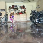garage epoxy metallic flooring scottsdale